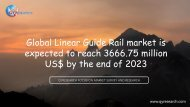 Global Linear Guide Rail market is expected to reach 3666.75 million US$ by the end of 2023