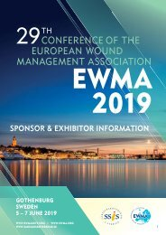 EWMA 2019_ Sponsor and Exhibitor information
