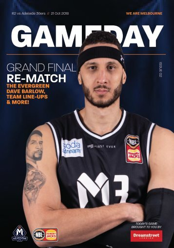 Gameday program - Round 2 - FINAL