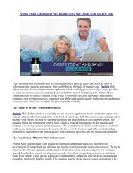 The Claims of Praltrix Male Enhancement!