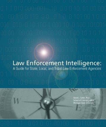 Law Enforcement Intelligence - Cops - Department of Justice
