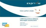 ERP Cloud fattore abilitante dellaDigital Transformation