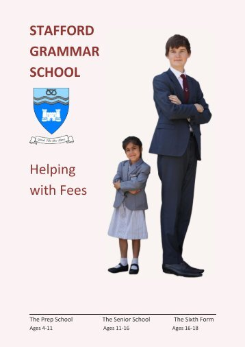 Help with fees booklet 2018/9