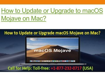 How to Update or Upgrade to macOS Mojave on Mac