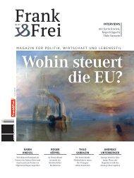 Leseprobe Magazin Frank&Frei 07/2018
