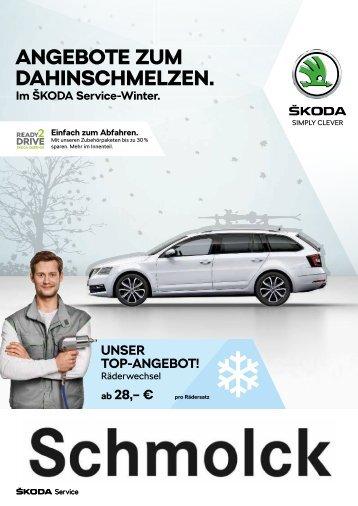 ŠKODA Service Winter 2018