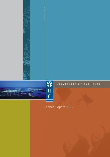 Year 2001 - University of Canberra