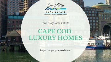 Cape Cod Luxury Homes & Property for Sale