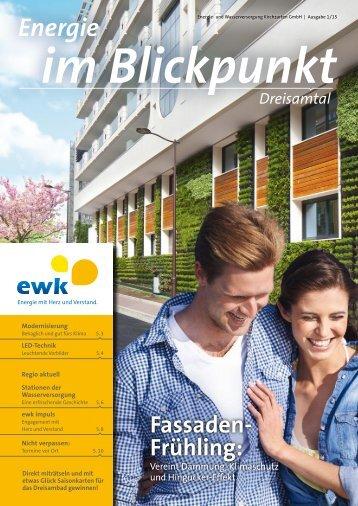 EWK Magazin 1/2015
