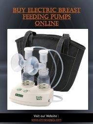 Buy Electric Breast Feeding Pumps Online | 8775639660 | chirosupply.com
