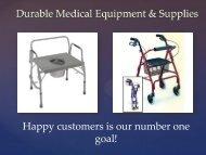 Durable Medical Equipment & Supplies | 8775639660 | chirosupply.com