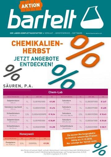 Bartelt Chemikalien Aktion 2018