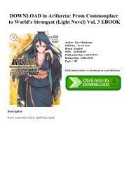 PDF] Download Konosuba God'
