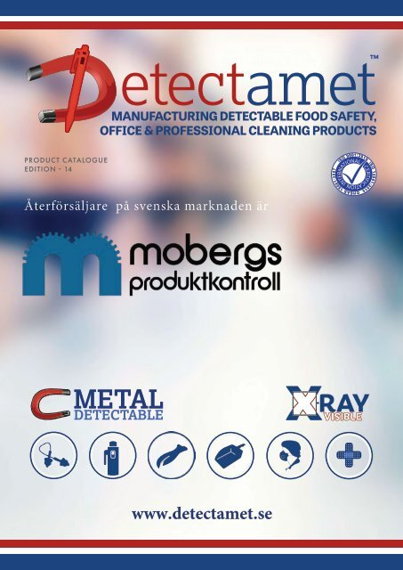 Detekterbara Produkter - Detectamet katalog 14
