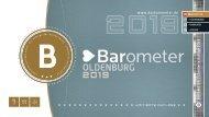 BAROMETER OLDENBURG | Limitierte Ausgabe 2019