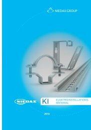 NIEDAX_Katalog_KI-Elektroinstallationsmaterial_2018_DE