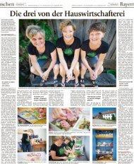 Artikel vom 15.9.2018 im Münchner Merkur