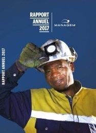 Managem Rapport Annuel 2017