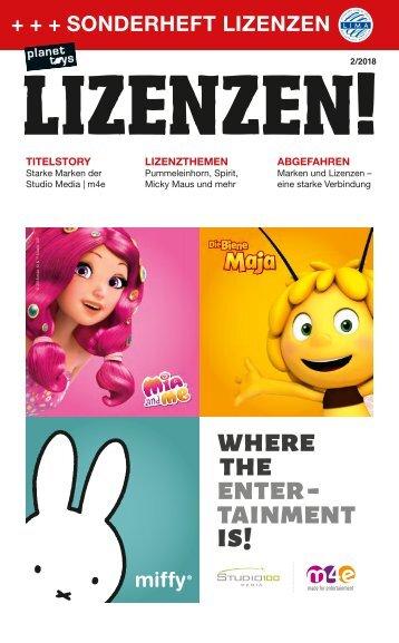 planet toys Sonderheft LIZENZEN! 2/18