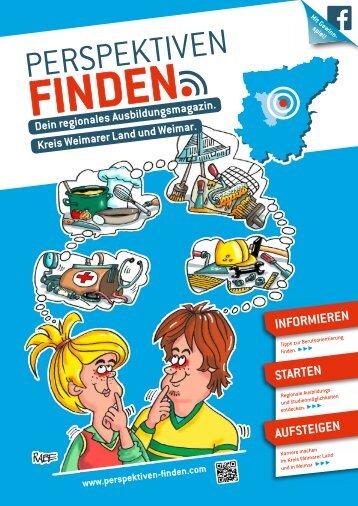 Lehrstellenbörse / Magazin Landkreis Weimarer Land und Weimar 2018 in Thüringen