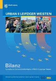 URBAN II Leipziger Westen - Bilanz - Stadt Leipzig
