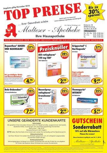 Malteser Apotheke Nürnberg Nov 2018