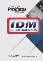 Catálogo de Produtos IDM Escapamentos 2019_2020