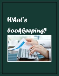 What's Bookkeeping