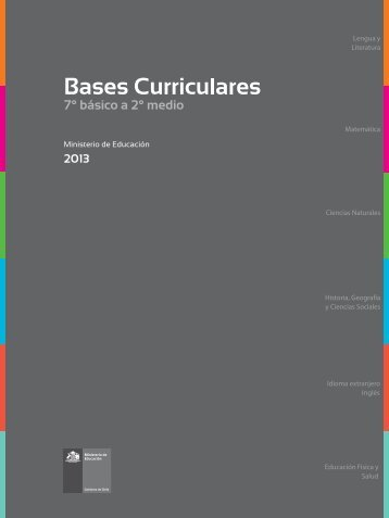 BASES CURRICULARES 7°