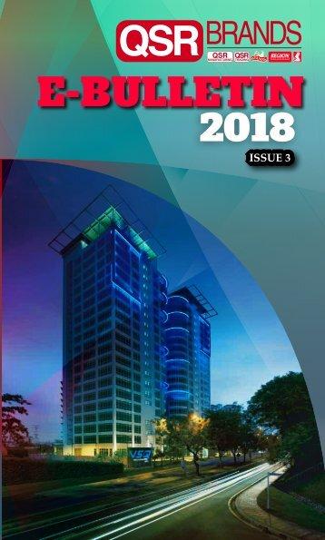 E-bulletin 2018-ISSUE3