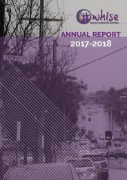 WHISE 2017-2018 Annual Report