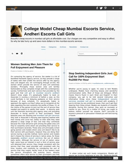 How to hire independent female escorts model in mumbai