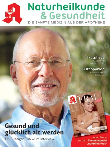 """Leseprobe """"Naturheilkunde & Gesundheit"""" November 2018"""