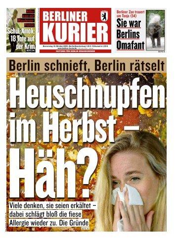 Berliner Kurier 18.10.2018