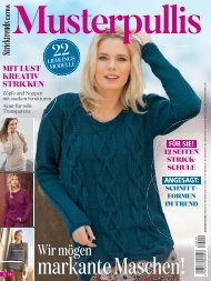 Musterpullis - Stricktrends Extra (SE040) Blick-ins-Heft