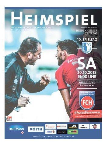 Heimspiel Nr. 5 Saison 2018/19