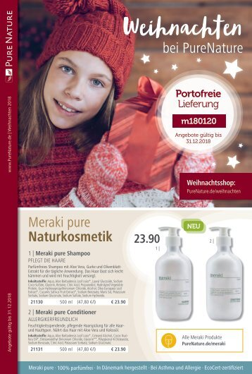 PureNature Weihnachten 2018