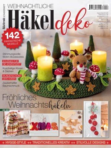 Weihnachtliche Häkeldeko - (HS009) - Blick ins Heft