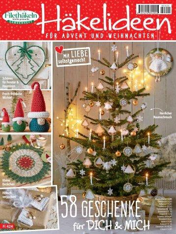 Häkelideen für Advent und Weihnachten (Fi424) Blick-ins-Heft