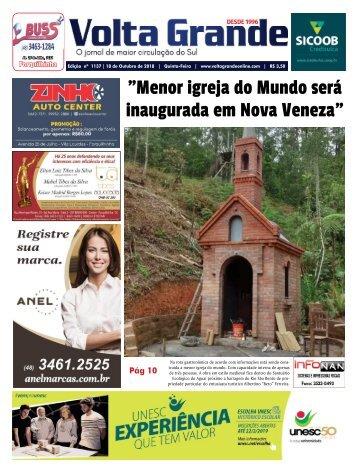 Jornal Volta Grande   Edição 1137 Forq/Veneza