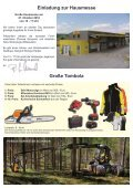 Flugblatt Hausmesse - Seite 2
