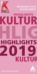 Highlights in Karlsruhe 2019