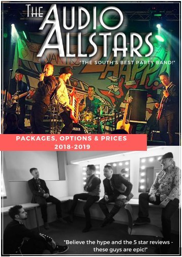 Audio Allstars - 217 Events