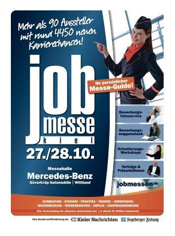 Der Messe-Guide zur 11. jobmesse kiel