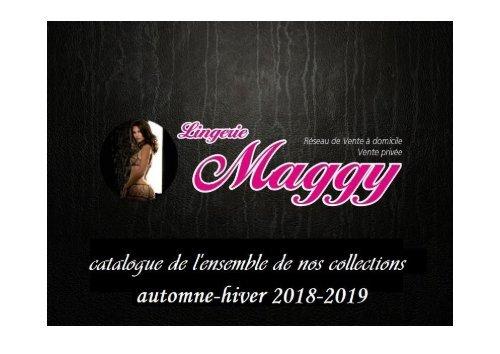Lingerie Maggy catalogue automne-hiver 2018-2019