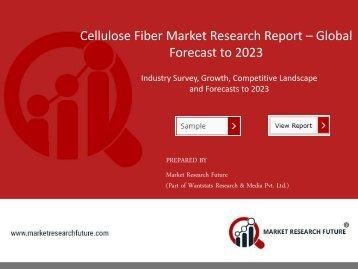 Cellulose Fiber Market PDF