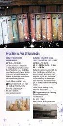 Weihnachtsstadt Programmheft 2018 Museen