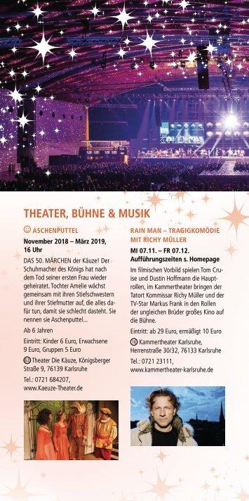 Weihnachtsstadt Programmheft 2018 Theater