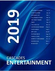 ENTERTAINMENT 2019 MAGAZINE