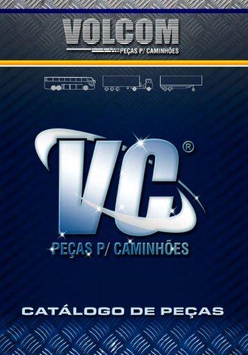 VOLCOM - Catálogo de Peças